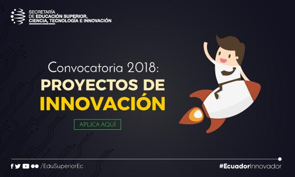 Convocatoria Senescyt Banco de Ideas 2018